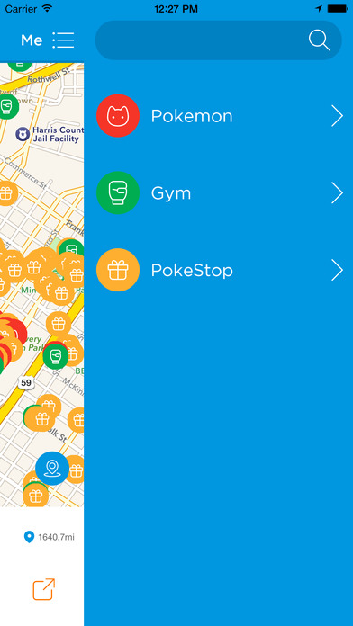 GO Search for Pokemon GO - Global Location Maps using GPS to