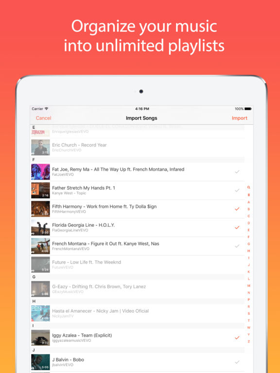 Musi - Unlimited Music For YouTube Screenshot