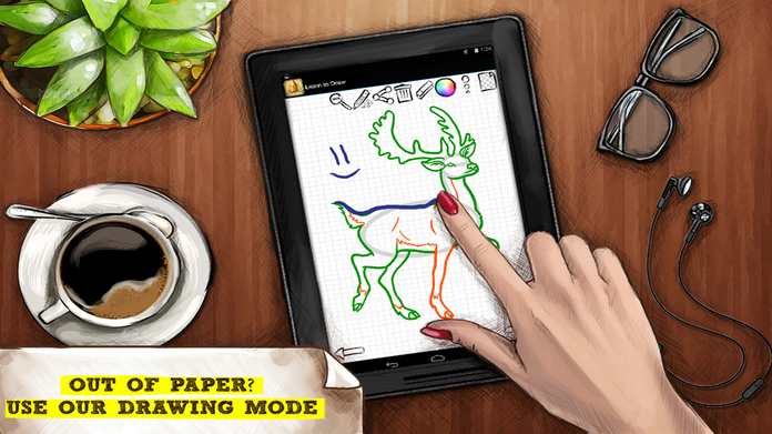 Drawing Ideas: Learn How to Draw Tutorials Screenshot