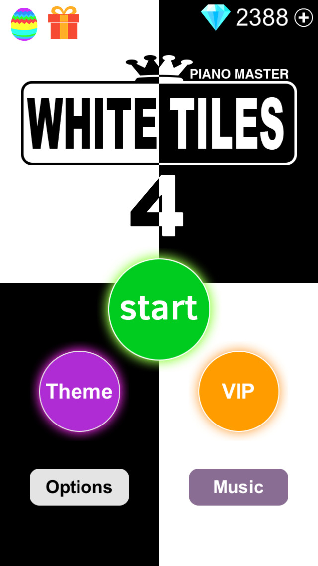 White Tiles 4 : Piano Master ( Don't Touch the White Tile and Trivia games ) - Free Screenshot on iOS