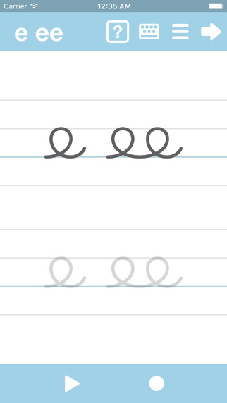 Cursive writing app free