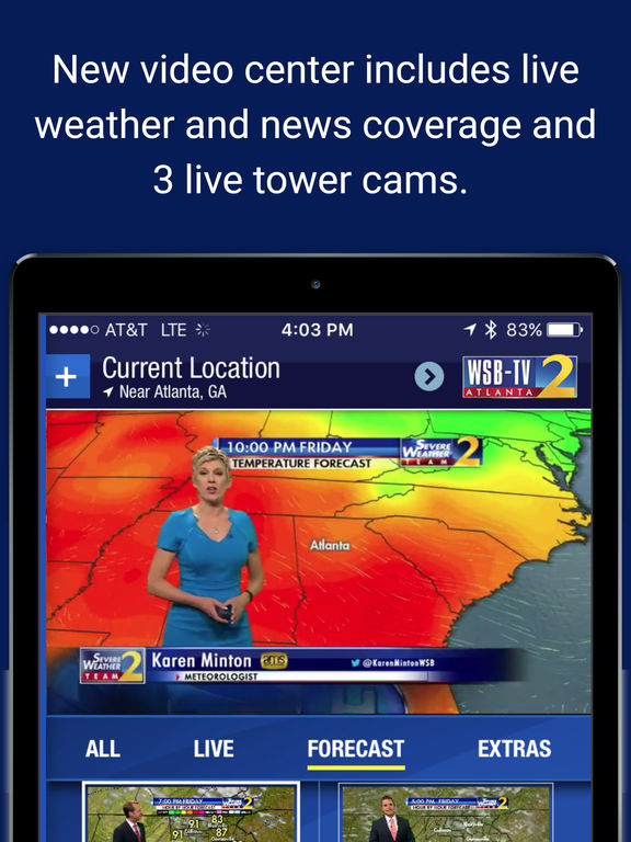 app shopper wsbtv channel 2 atlanta weather radar forecast weather. Black Bedroom Furniture Sets. Home Design Ideas