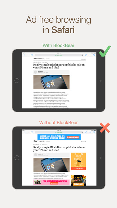 BlockBear: Block Ads and Protect Your Privacy With a Bear Screenshot