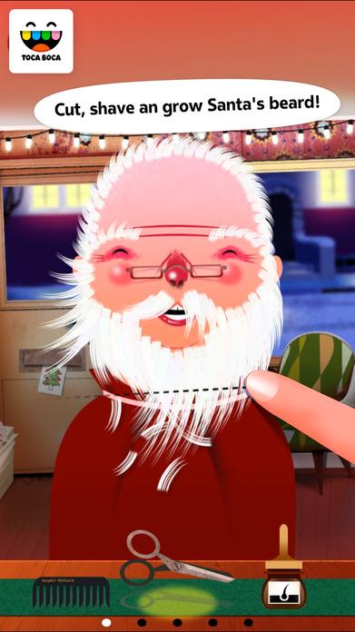 Toca Hair Salon - Christmas Gift Screenshot