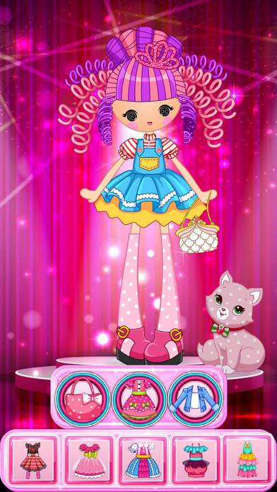 Dress up! Dolls – Fun Game for Girls and Kids Screenshot on iOS
