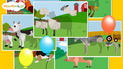 Farm Animals Puzzles Animal Sounds And Activities For Toddler