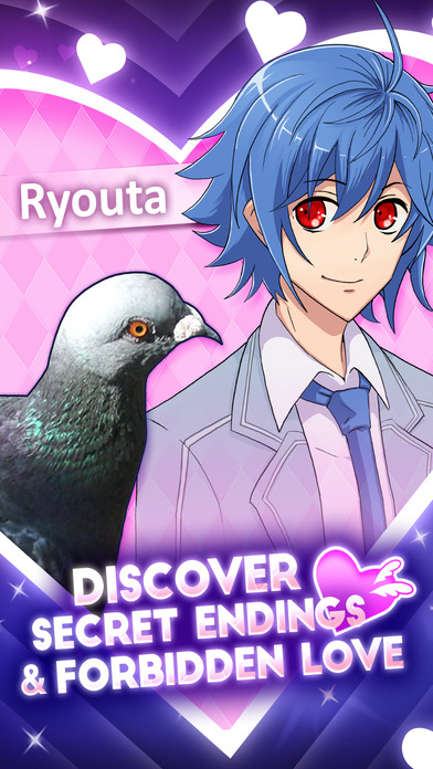 Hatoful Boyfriend Screenshot on iOS