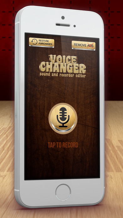 Sound Recorder & Editor - Voice Change.r With Audio Effect.s For Speech Transform.ation Screenshot on iOS