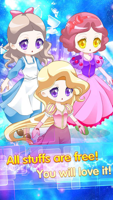 Anime Elf Dress Up - Fashion Prom,Girl Make Up Salon Free Games Screenshot on iOS