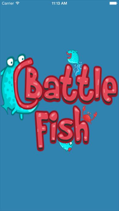 Splashy War Fish Screenshot on iOS