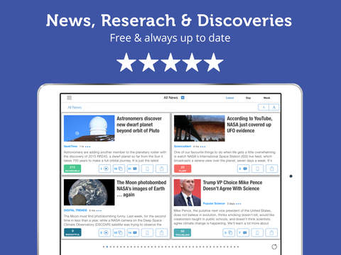 New Science Discoveries