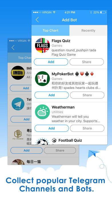Rating: premium apps telegram channel
