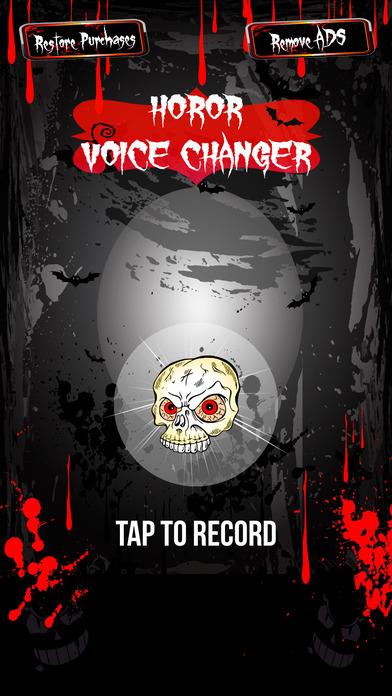 Horror Voice Changer & Speech Modifier – Audio Recorder with Super