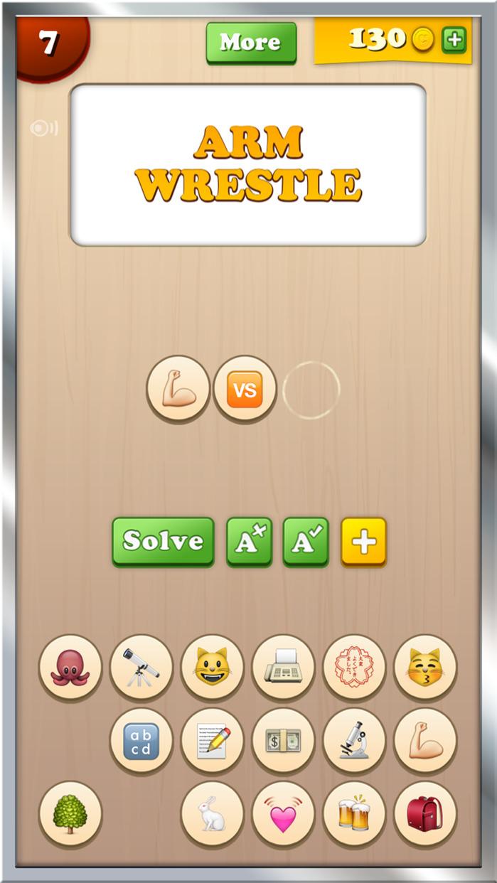 Emoji Games - Find the Emojis - Free Guess Game Screenshot