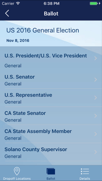 Vote California Screenshot
