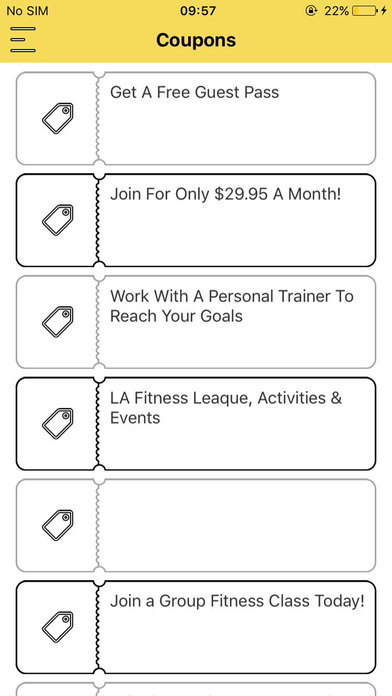 La fitness corporate discount rate