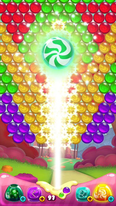 Candy Pop Bubble Shooter Screenshot on iOS