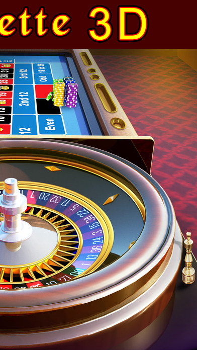 Roulette 3D - FREE Las Vegas Casino Style Multiplayer Roulette Game Screenshot on iOS