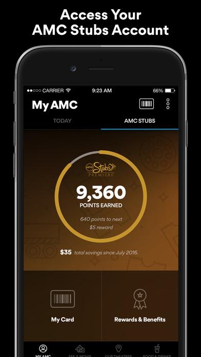 Amc Theatres On The App Store