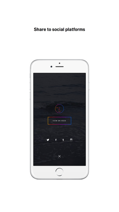 DSCO by VSCO Screenshot on iOS
