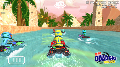 Mini Quad Ski Racing - Top Jetski Racing for Kids Screenshot on iOS
