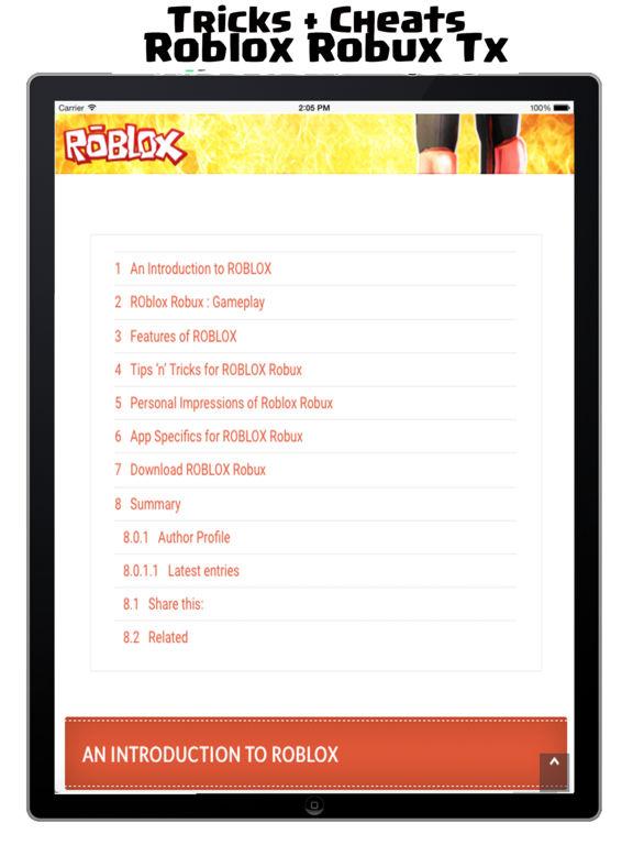 App Shopper: Robux Cheats for Roblox - Free Robux ...