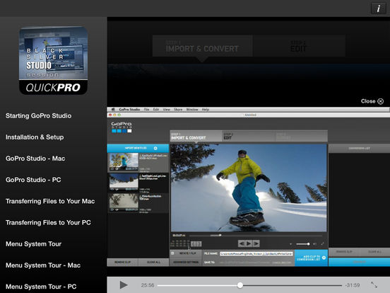 App shopper control for gopro studio productivity for How to use gopro studio templates