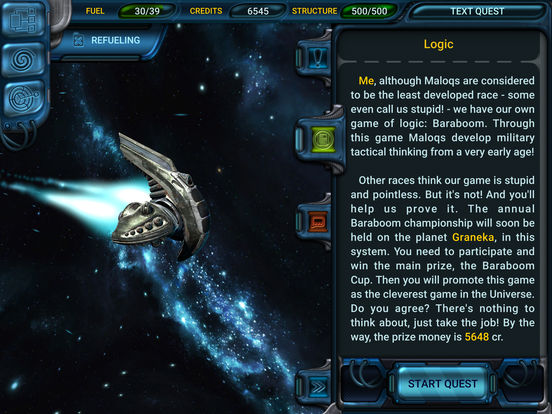 Space Rangers: Quest IPA Cracked for iOS Free Download