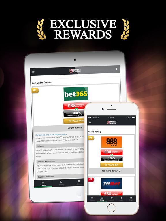 Exclusive bet mobile casino