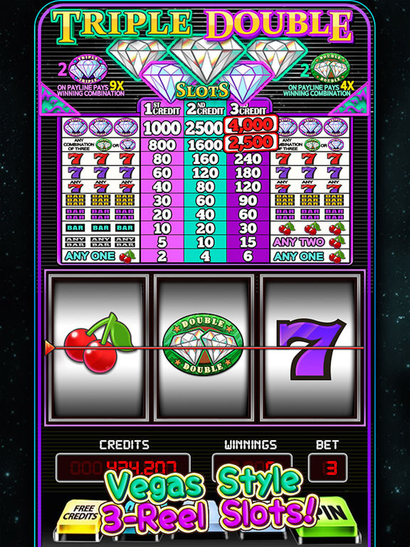 Double Diamond Slot Machine Game