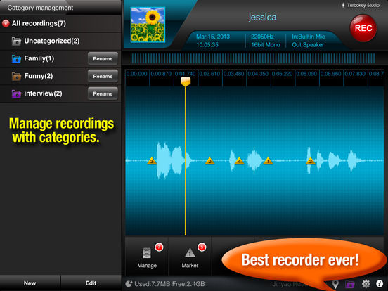 Best audio recorder app for ipad