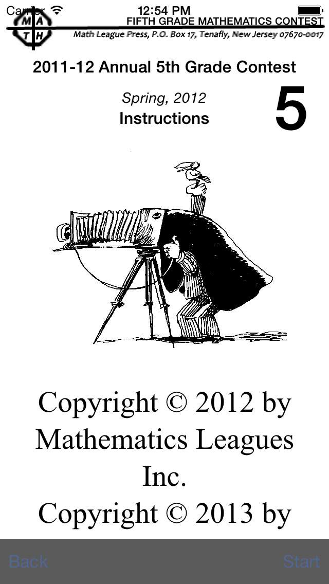 Math League Contests Questions And Answers Grade 5 2007 12