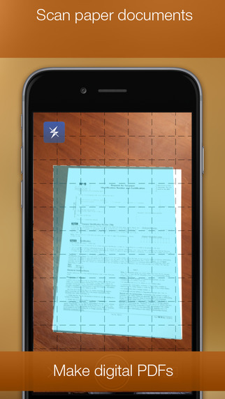 PDF Printer for iPhone Screenshots