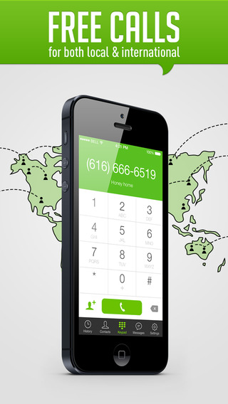 HiTalk - Free international and local calling & texting on