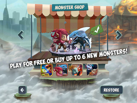 Monster Shake Screenshot