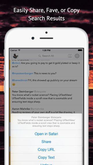 Tweet Seeker - Search Your Tweets, Mentions, Faves, and DMs