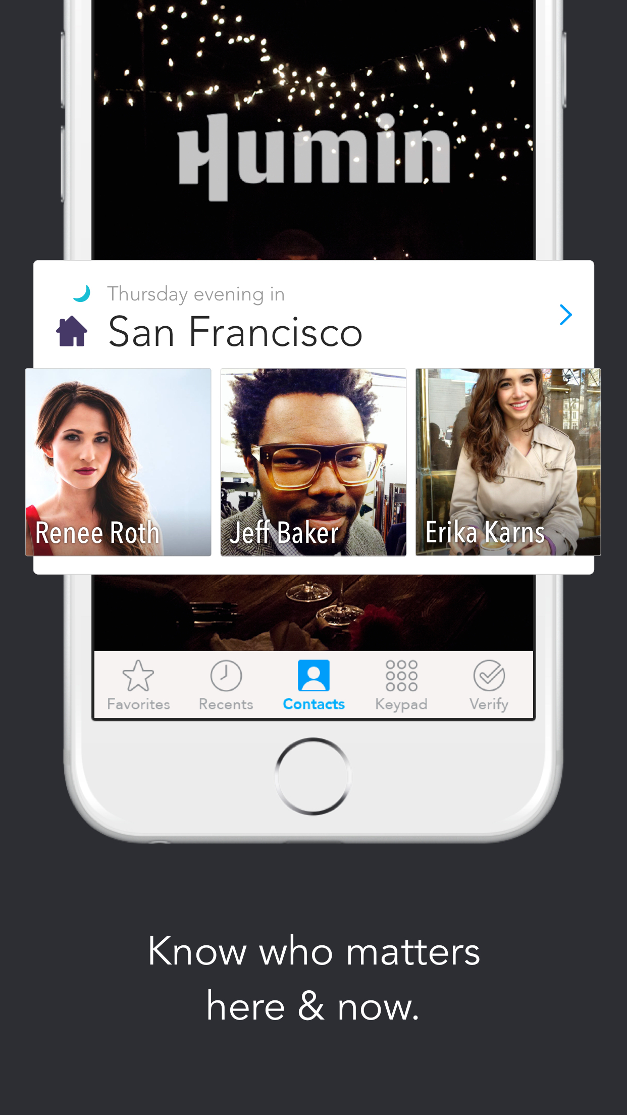 Humin - Phone and Contacts App