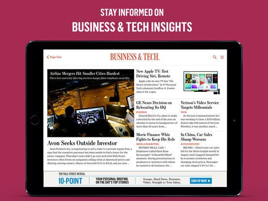 The Wall Street Journal Business Amp Markets News Ipa