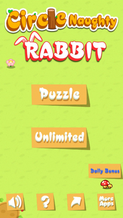Circle Naughty Rabbit Screenshot on iOS