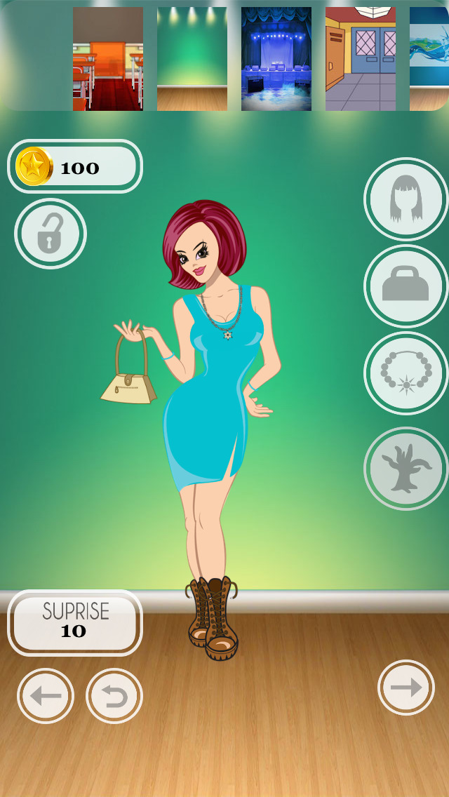 Teen Cover Girl Dress Up Pro - cool celebrity style dressing game Screenshot on iOS