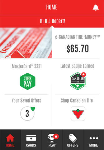 Canadian Tire Mastercard >> Canadian Tire Mpay Play Apppicker