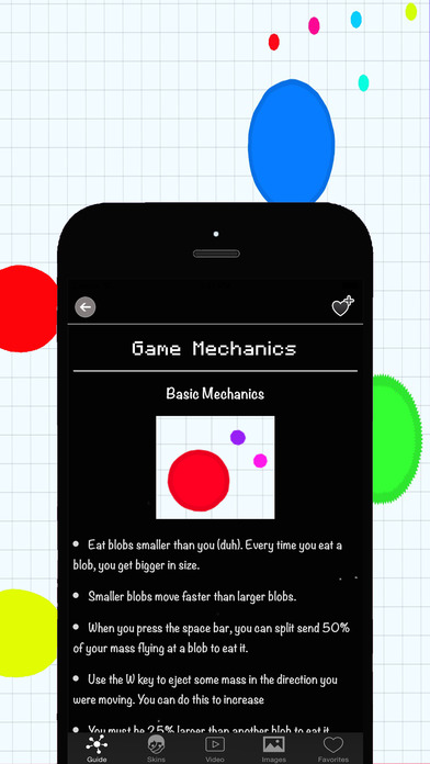 Pro Strategy for Agar.io - Guide for Agario with The Best Tips & Tricks and Funny Videos! Screenshot on iOS