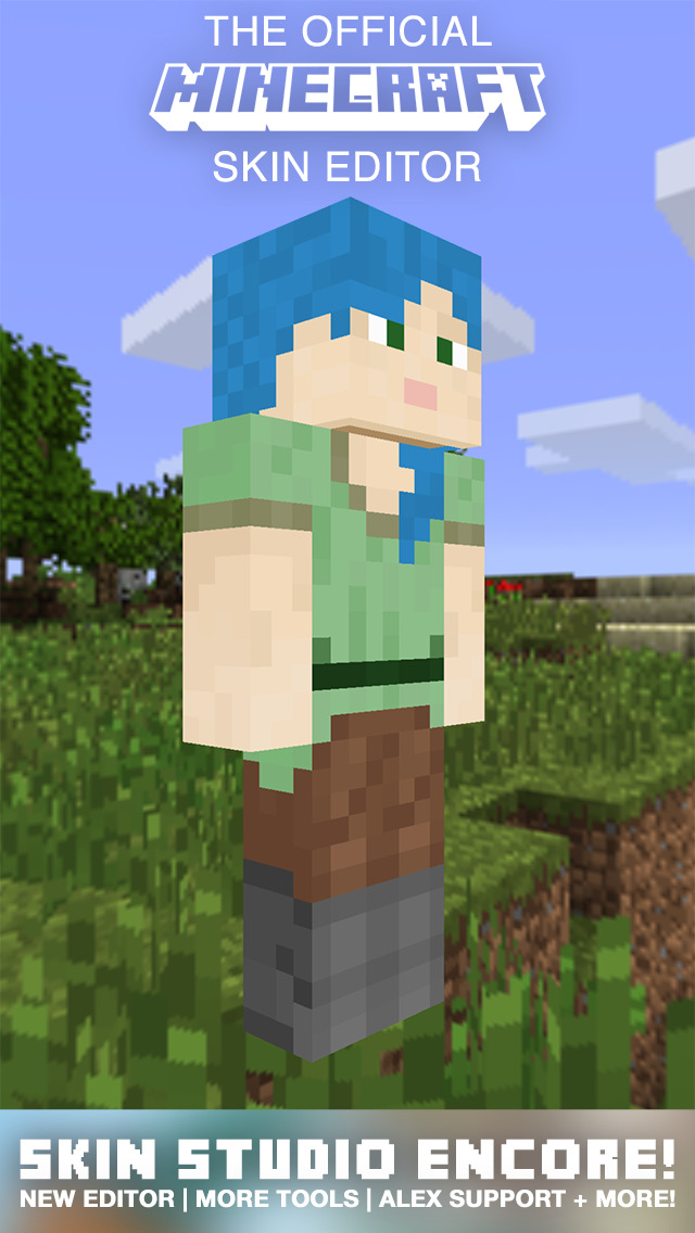 Minecraft Skin Studio Encore Official Skins Creator For