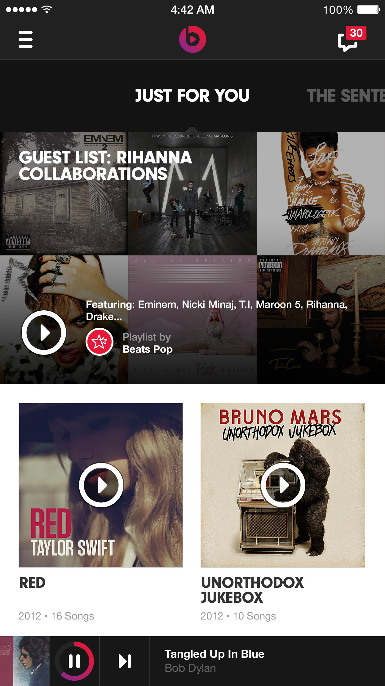Beats Music screenshot-0