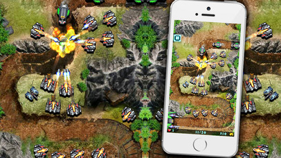 Galaxy Defense Plus: Classic defense game Screenshot on iOS