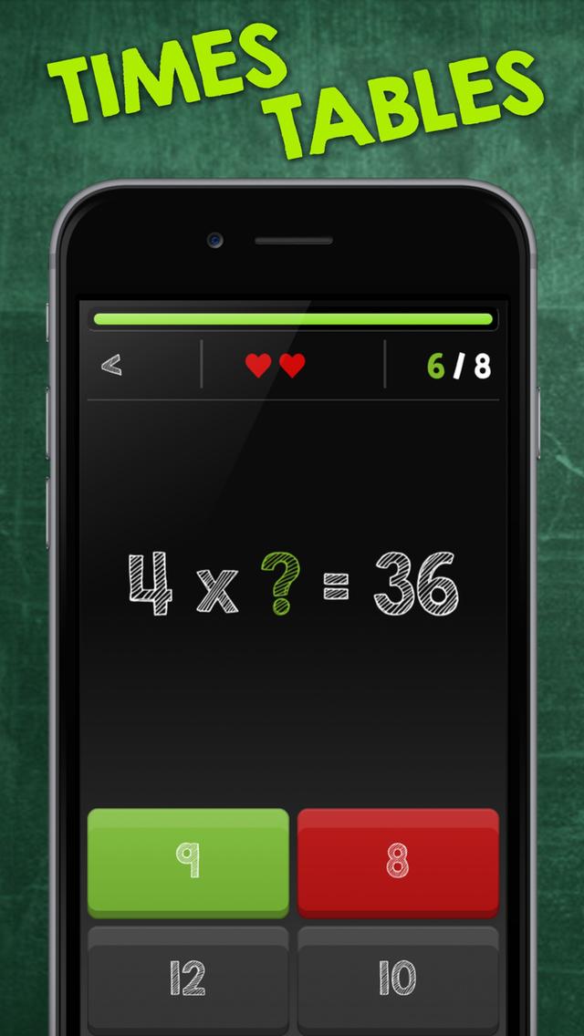 App Shopper Multiplication Table Times Table Math