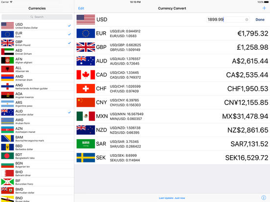 The best currency converter apps for iPad - appPicker
