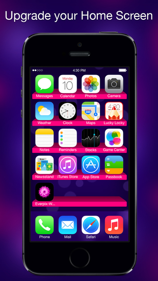 Themes For IOS 8 Cool Custom Lock Screen