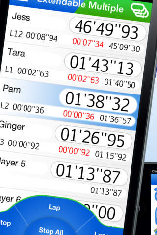 Download Super Multi Stopwatch app for iPhone and iPad