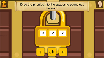 Pirate Phonics 1 : Kids learn to read! Screenshot on iOS